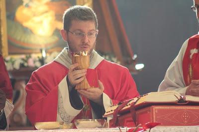 p. Massimo Chieruzzi ofm nella sua Prima S. Messa Chiesa di S. Francesco del Monte - Monteripido