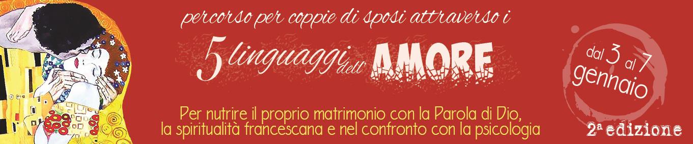 I 5 LINGUAGGI DELL'AMORE - 2° edizione