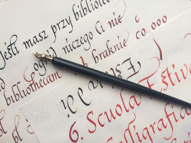 Banner laboratorio di calligrafia