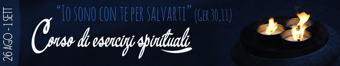 CORSO DI ESERCIZI SPIRITUALI