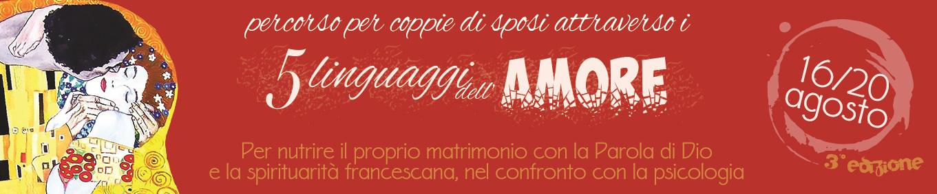 I 5 LINGUAGGI DELL'AMORE - 3° edizione