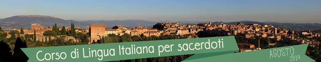 CORSO DI ITALIANO PER SACERDOTI E RELIGIOSI